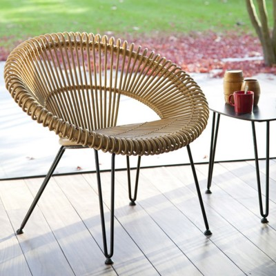 Cruz natural armchair