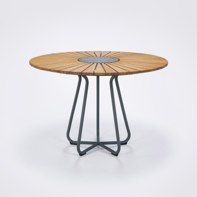 Circle dining table Ø110 cm bamboo Houe