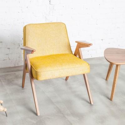 Bunny armchair Loft mustard