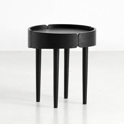 Table d'appoint Skirt noir