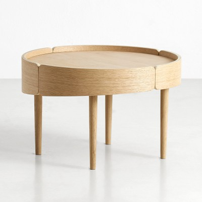 Table basse Skirt naturel