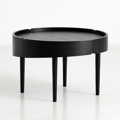 Table basse Skirt noir