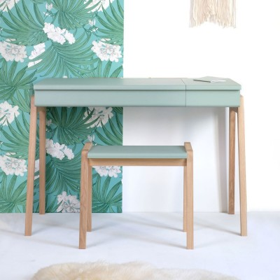 My great pupitre desk celadon green