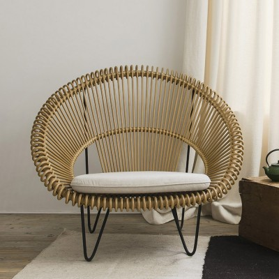Cruz Cocoon natural armchair Vincent Sheppard