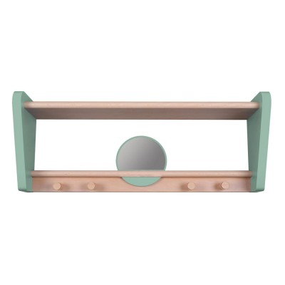 My little boudoir shelf celadon green