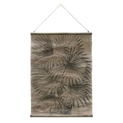 Affiche vintage feuilles de palmier HK Living