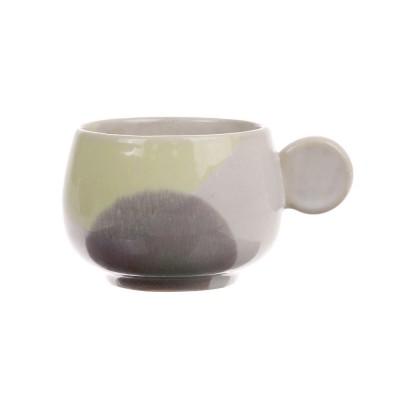 Tasse à café Gallery jaune & lilas (lot de 6)