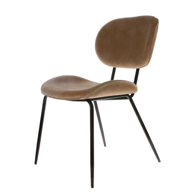 Dining chair velvet sand HK Living