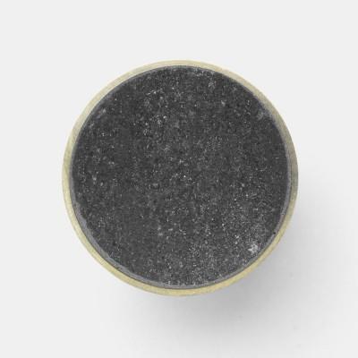 Stone hook marble black L